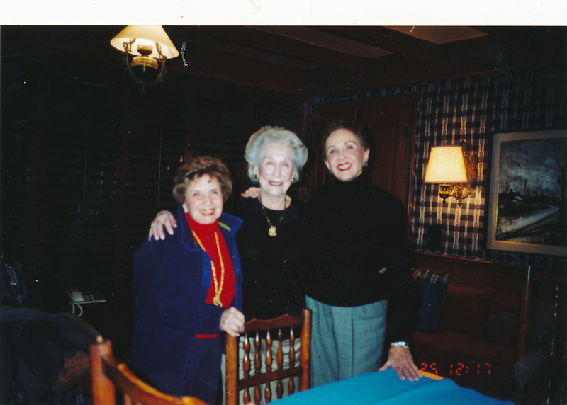 Margie, Thelma Levinl, Miriam Gromanhome.