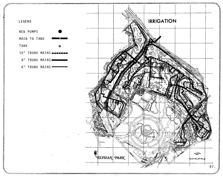 1971, Proposed Irrigation Map