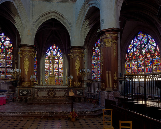 Troyes - Church of Saint-Madeleine