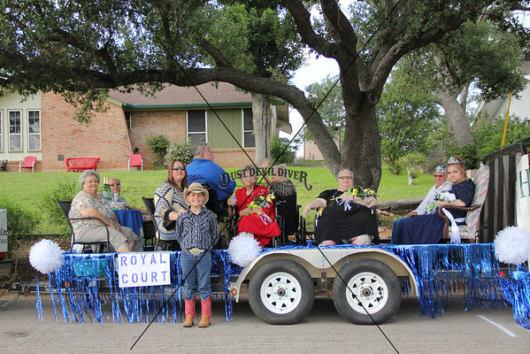 Llano Rodeo Parade 6-07-2014