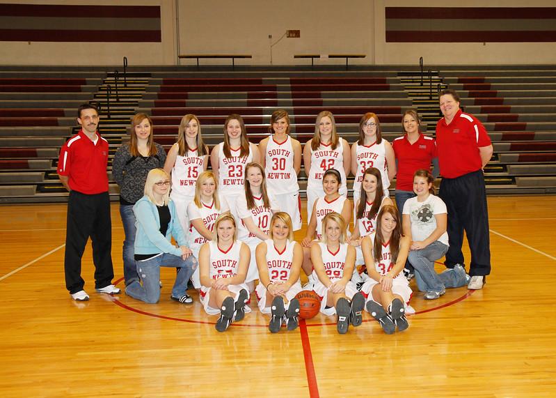 SNHS Girls Basketball 2010-2011