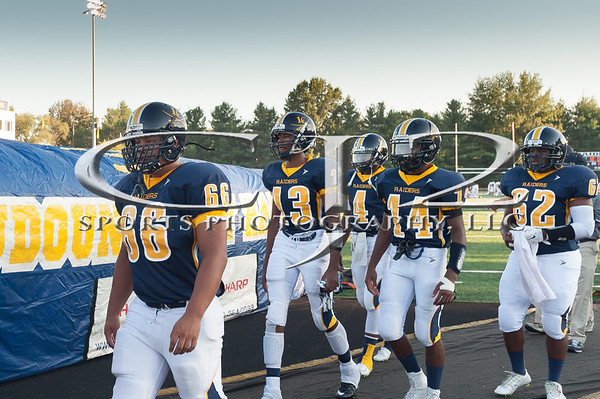 9-11-2015 Woodgrove at Loudoun County Football (Varsity)