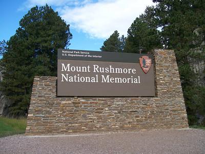 2013 09 30 Mt. Rushmore - Crazy Horse -Badlands - Minnesota