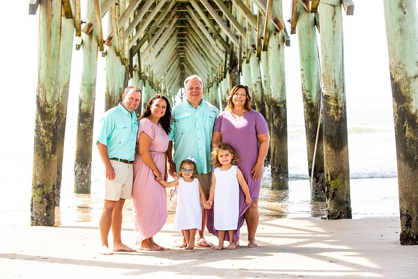 T  Family photography at Topsail Beach NC