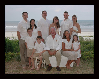The Lawless Family. May. 2008. Crescent Beach,Fl.