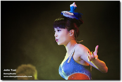 Jolin Tsai in San Jose