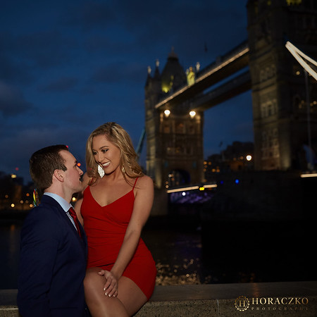 Night photos near Tower Bridge
