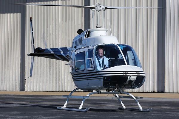 """1979 Bell 206B """"Jet Ranger"""", Richmond, 21Jan18"""