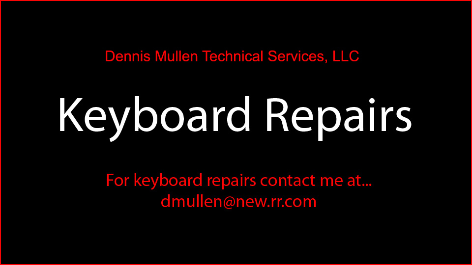 <center> http://www.facebook.com/pages/Dennis-Mullen-Technical-Services-LLC/176172625745157