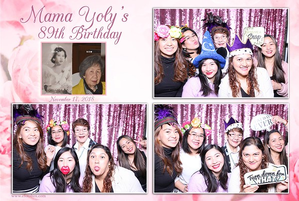 Mama Yoly's 89th Birthday