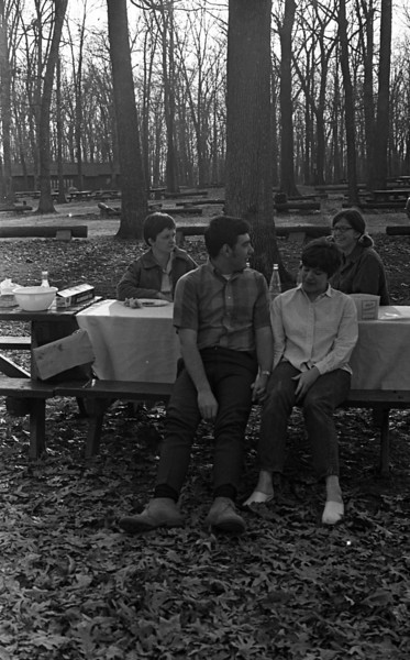 Picnic at Spitler Woods (Spring, 1970)