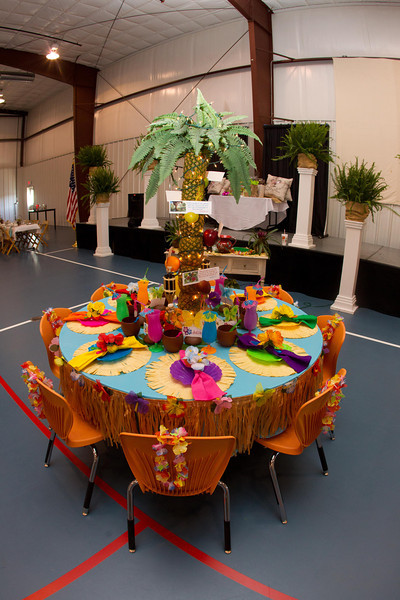 Tablescape Event at Saltillo FUMC April 2013