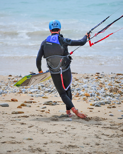 2015 Apr 15 - Kiteboarding with Gaetan