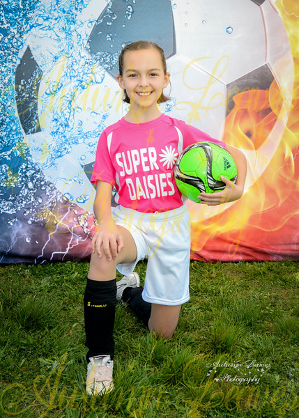 4G Super Daisies - TNYMCA Soccer Spring 2016