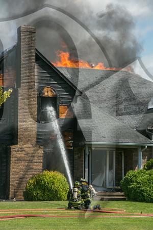 House Fire, Queensland Dr., Gates 8/13/14