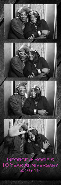 George & Rosie 10th Anniversary 4-25-2015