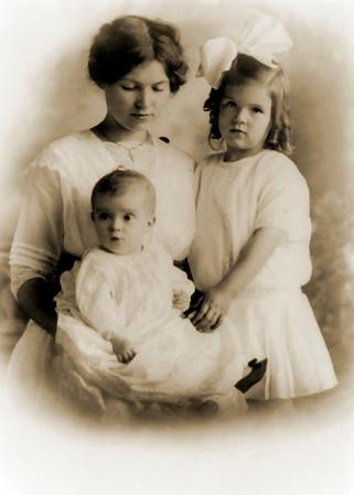 Bisbee/Broombaugh family photos