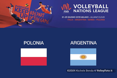 20190621 POLONIA vs ARGENTINA Pool14 Week4 (Maschile)