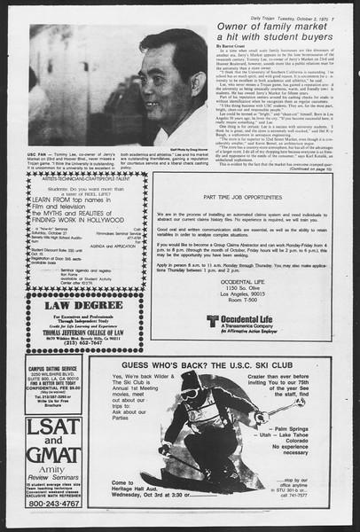 Daily Trojan, Vol. 87, No. 12, October 02, 1979