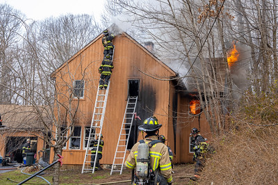 Hattertown Rd. Fire (Monroe, CT) 12/9/20