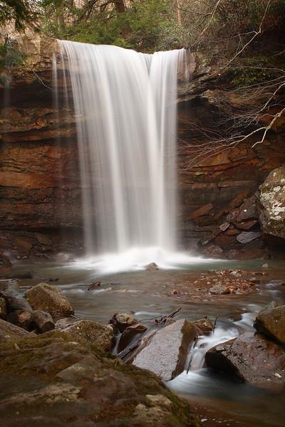 Pennsylvania - Cucumber Falls & Ohiopyle Falls, Ohiopyle Pa