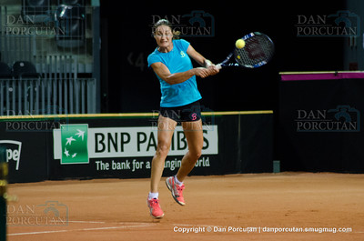 Fed Cup - World Group Play-Off - Romania vs. Germany - Workouts - Day I