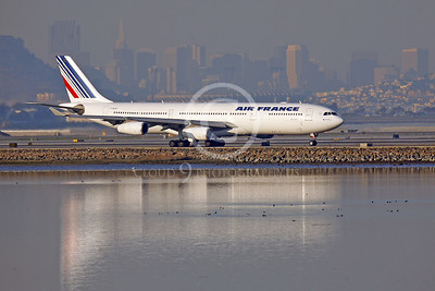 Air France Airline Airbus A340 Pictures