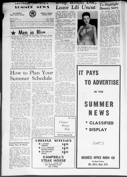 Summer News, Vol. 8, No. 2, June 26, 1953