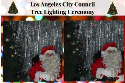 Los Angeles City Tree Lighting Ceremony 2018