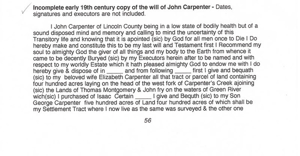 John Carpenter Will