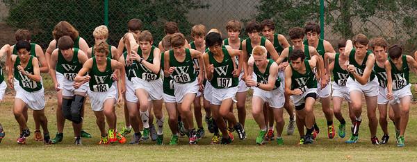 Westminster Boys XC October 2, 2012