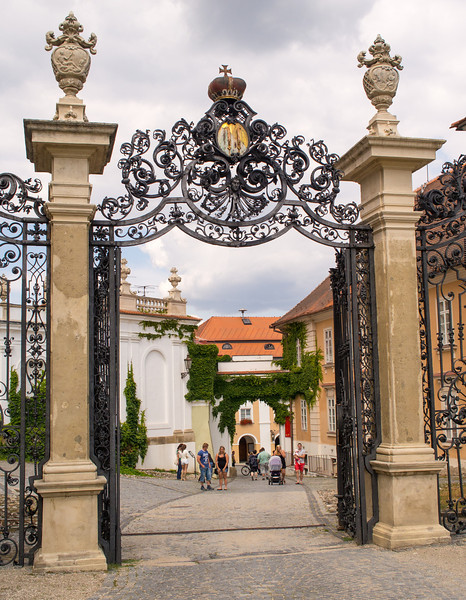 Entrance to the Mikolov Chateau, Mikulov