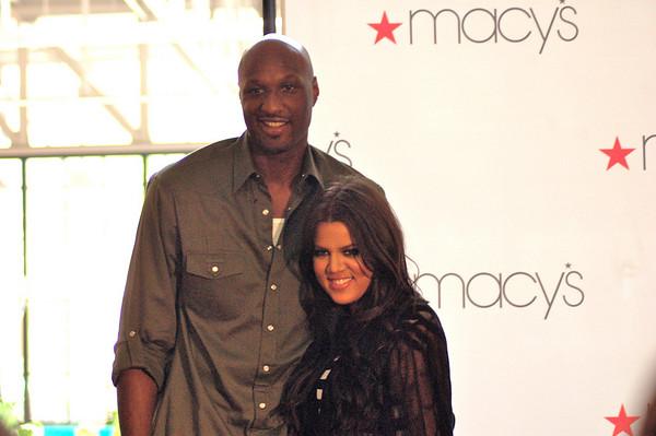 Lamar Odom at Macy's: LAStylin.com