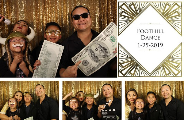 Foothill Elementary School Dance - 1.25.19 - Photo Strips