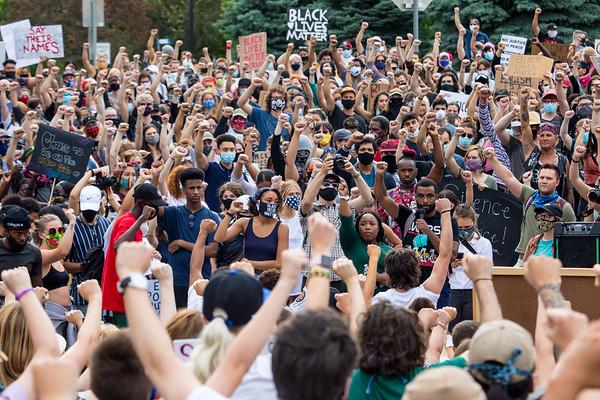 Black Lives Matter Protest in Salt Lake City 2020