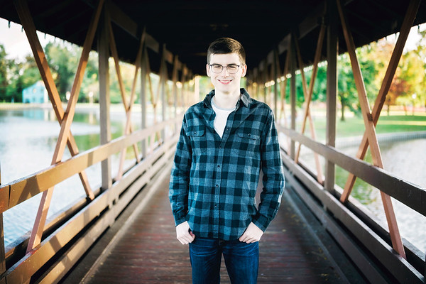 Richard Senior Session Heritage Park Taylor MI