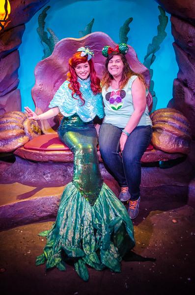Disney with Robin