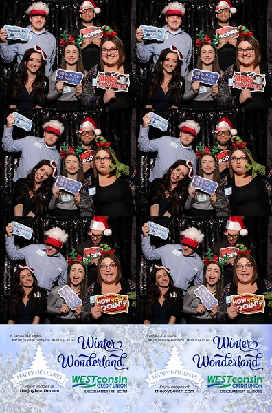Westconsin Credit Union Holiday Party 2018 PRINTS