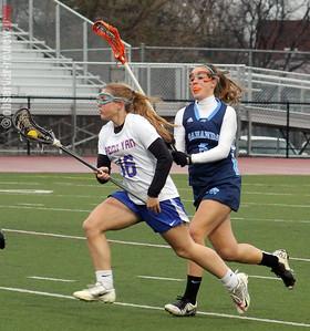 Penn Yan girls lacrosse 4-10-13