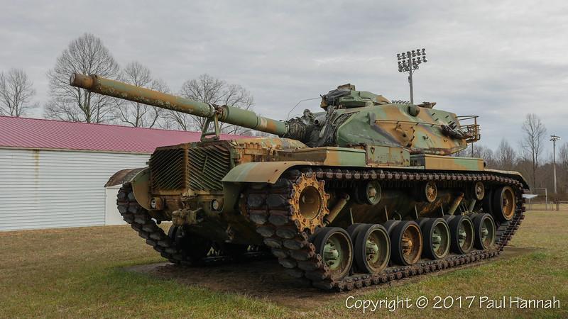 VFW Post 3302 - London, KY - M60A3 & M2A2 105mm