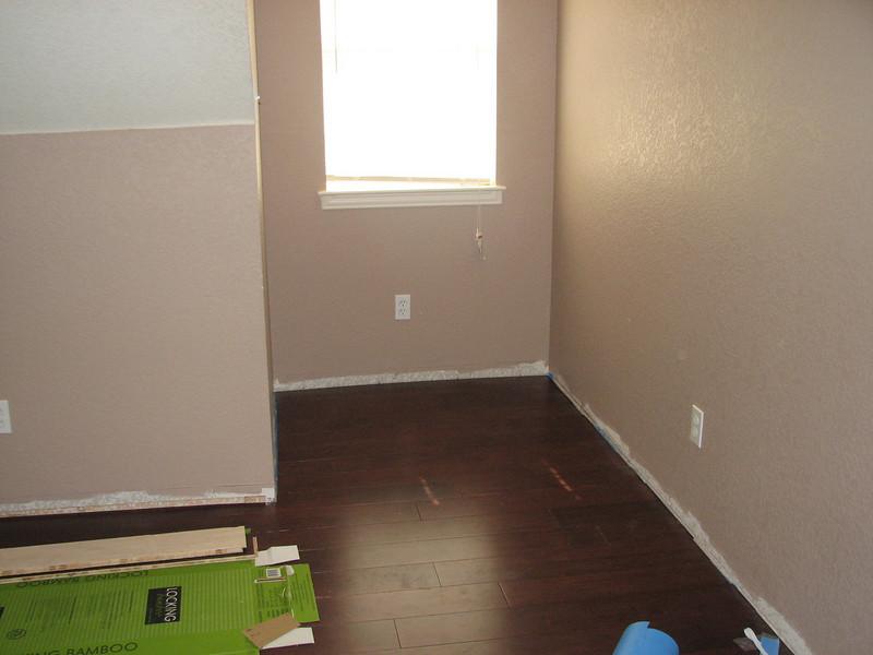 North dormer flooring complete.