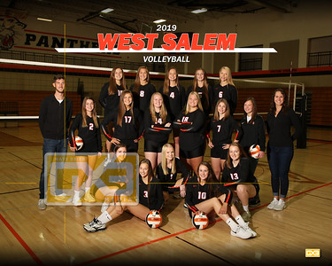 West Salem volleyball VB19