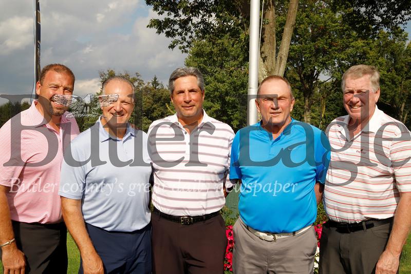 Pro Am Winners left to right: Kevin Gagliardi, Nick Palombi, Denny Dolci(pro), Chuck Montgomery, George Becker.