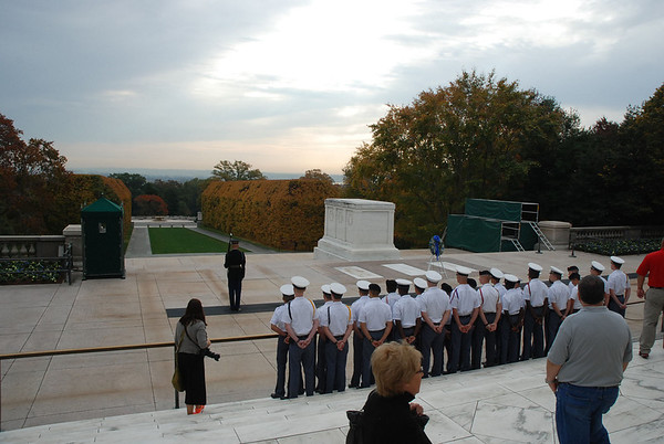 Tomb of the Unknown Soldier - Wreath Laying