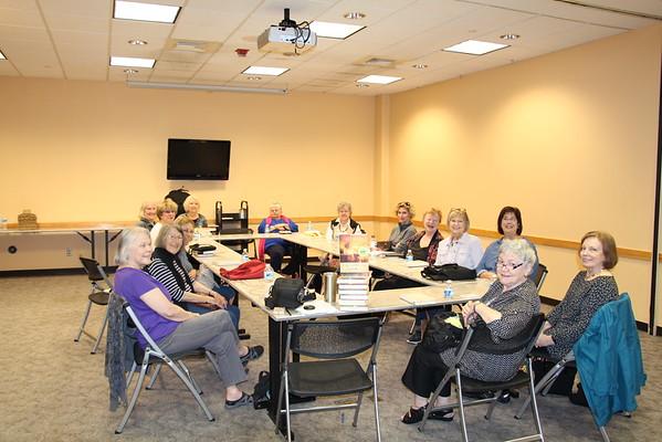 Second Thursday Book Group=April 13, 2016