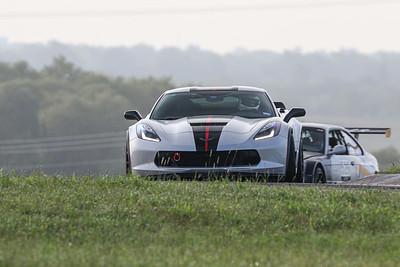 43 Silver/Black/Red C7 Corvette Grand Sport