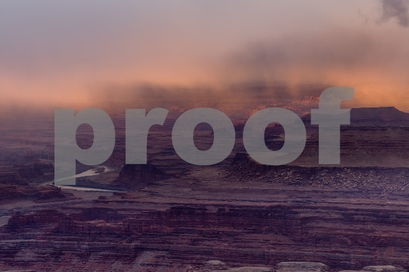 Sunrise Over Moab, Utah