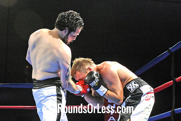 """Bout 4 Billy """"Hutch"""" Hutchinson, Pittsburgh, PA -vs- Angel """"The White Tiger"""" Rios, Bronx, NY Super Lightweights"""