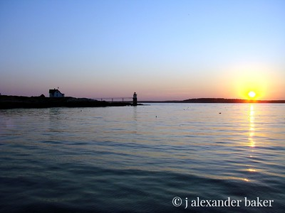 Sunset, Boothbay Harbor, ME