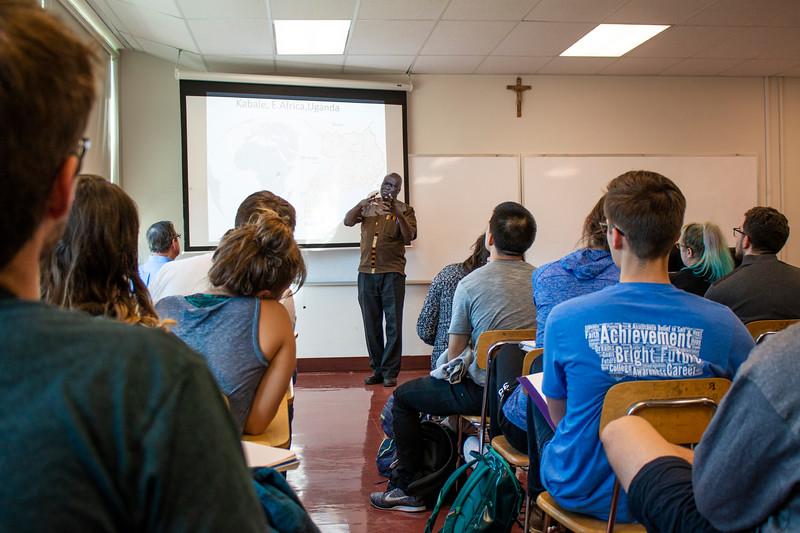 Dr. Geoffrey Anguyo   Carroll College